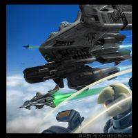 heavy assault carrier by sekido54