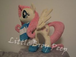 my little pony Fluttershy (commission) by Little-Broy-Peep
