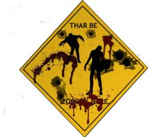 Thar Be Zombies Here by grenadeh