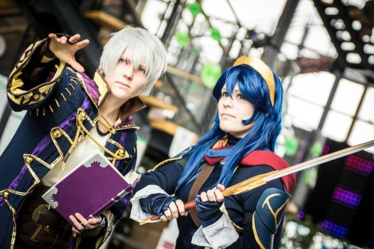 fire emblem robin and lucina by 69-KAIT0