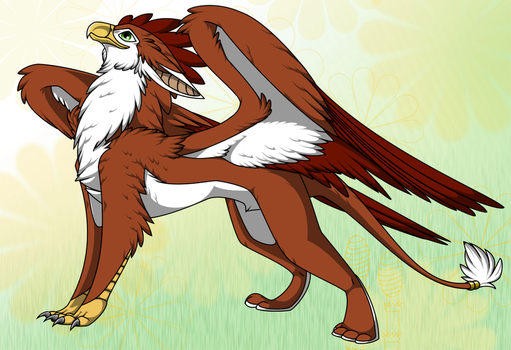 Gryph Adoptable (Closed) by itachi1235