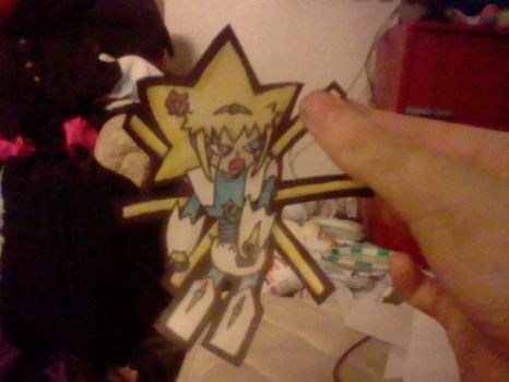 Angry Paper Star Child by Ask-Reala