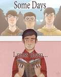Some Days I Miss Them by TheRedDeathBringer