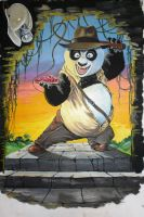 Panda Jones by Ishyndar