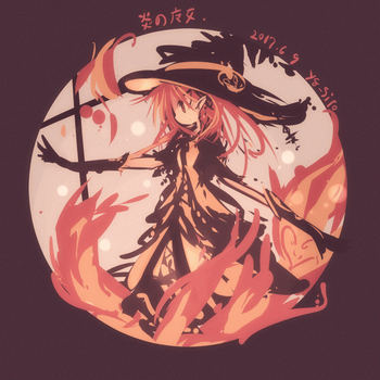 Witch of the flame by yagamisiro