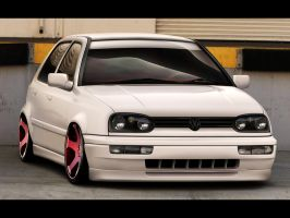 VW Golf III by memphisdesign