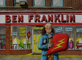 Ben Franklin by Keith-McGuckin