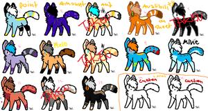 Adopts batch 11 -OPEN- by Foxxyheartz
