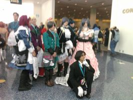 Black Butler Cosplayers by SkypawtobeSkyheart