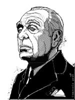 jorge luis borges by marcelopont