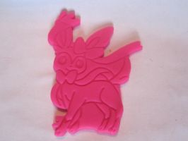 Sylveon Cookie Cutter Play-Doh Test by B2Squared