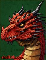 Red Dragon Four- Serpent by VegasMike
