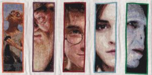 Potter Bookmarks 'Work in Progress' by OronoStitcher