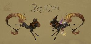 MYO Starduster: Bog Witch by Pepperoonie
