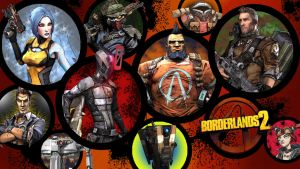 Borderlands 2 Wallpaper - Character Round Up by MattNixon93