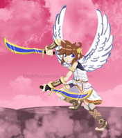 Kid Icarus - Pit fanart 1 - colored by DaphfloconMojo