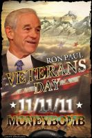 Ron Paul VeteransDay Moneybomb by LibertyBroadsides