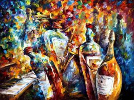 WEDDING ANNIVERSARY by Leonid Afremov by Leonidafremov