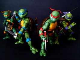 TMNT Classic Turtles - Attack! by 0PT1C5