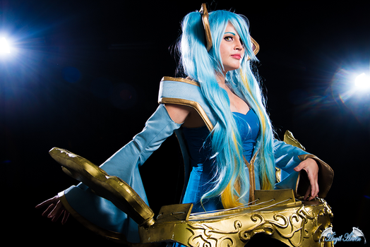 Sona Buvelle Cosplay by Angel--Arwen