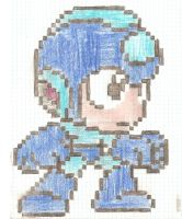 MM SD: Megaman by artdragon1