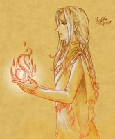 The Golden Flower of Gondolin by Lomelindi88
