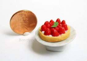 1:12 Strawberry Fruit Tart by Bon-AppetEats