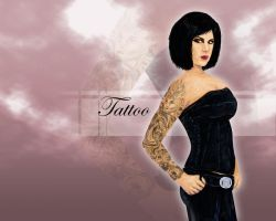 Tattoo wallpaper by Snusmumrik