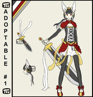 Royal Bunny Adoptable- CLOSED by Chudopts