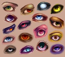 Eyes, eyes, eyes by eev11