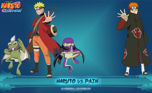 Naruto vs Pain by alxnarutoall