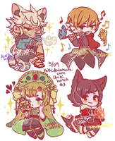 Chibi Batch 3 by Kaiet