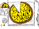 The Pizza Party Podcast Icon by A-Ithyphallophobiac