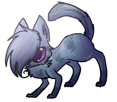 Art Trade: MintytheKiitty by Kitzophrenic