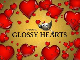 GIMP-Glossy-Heart-Brush by Chrisdesign