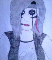 Andy Biersack drawing by marshmallow-away