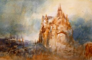 Turner style study by beckpage
