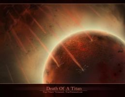 Death Of A Titan by Ulario