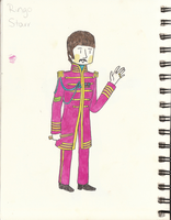 Sgt Pepper Ringo by ALonelyPepper