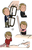 Tiny!Hannibal Lecter by bayobayo