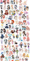 200 CHIBIES by Lady-Ignea