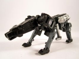 MP Ravage (Robot mode) by scoobsterinc