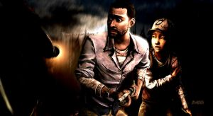 The Walking Dead|If Only You Were Here by B1ade3