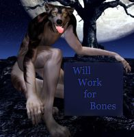 Work for bones by musicat