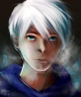 Jack Frost (Speed Paint) by whitty-boo
