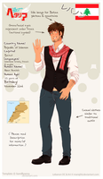 Lebanon [Hetalia OC] by PhyroNite