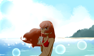 Summer by Gribouillonne