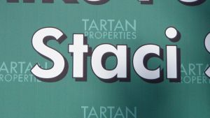 The name Staci on real estate sign by NamesAndSuch