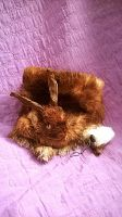 Rabbit Pelt ~ Key Chain by systemcat