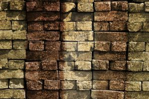Grudge brick wall by SnapColorCreations